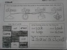 Blends - Teach beginning blends with the 66 worksheets contained in this packet. There are 3 worksheets for each of the following blends (sl has 6 altogether) L Blend - bl, cl, fl, gl, pl and sl R Blend - br, cr, dr, fr, gr, pr and tr S Blend - sc, sk, sl, sn, sm, sp, st and sw