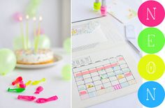 Washi tape to spiff up & color code your calendar!