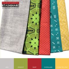 Pile O' Fabric Stash Share