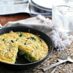 Lazy Sunday Broccoli Frittata.   #foodgawker