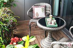 A cozy garden setup