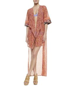 Mary Mack Georgette Kimono Coverup at CUSP.