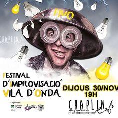 Ja saps...... Dema a les 19h t'esperem al @chaplin.cafesycopas #tardeo #fivo #arteatre #onda.es