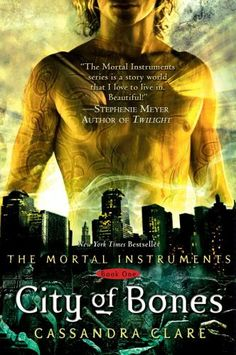 City of Bones by Cassandra Clare.  It is a very popular book with a very interesting storyline. It was just made into a movie this year. It is now in theaters.