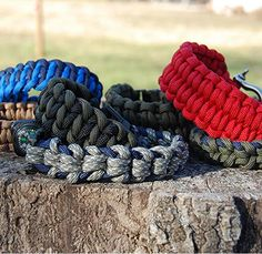 More Paracord Bracelets | 25 Paracord Projects, Knots & Ideas