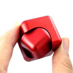 Aluminum Alloy Fidget Spinner Magic Cube Hand Spinner Whirlwind Square Finger Gyro EDC Decompression Toys Material: Metal  color: blue,red,golden,pink,black  Newest Aluminum Alloy Fidget Spinner Magic Cube Hand Spinner Whirlwind Square Finger Gyro EDC Decompression Toys