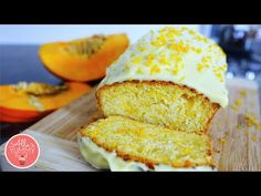 Pumpkin Loaf Recipe with Cream Cheese | Нежный тыквенный кекс - YouTube