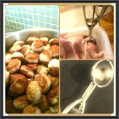 Spiskammeret: Tips til farsekaker ...og andre kjøttkaker Sprouts, Chicken, Meat, Vegetables, Tips, Food, Veggies, Essen, Vegetable Recipes