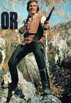 """Romanian actor Florin Piersic in a scene from 1971 movie Haiducii lui Saptecai (The Outlaws of Captain Anghel). Image from """"Cinema"""" magazine (December Film Movie, Movies, Romania, December, Cinema, Scene, Magazine, Actors, Fictional Characters"""