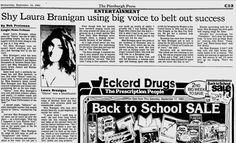 1983, Shy Laura using big voice