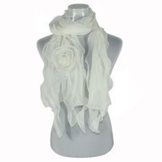 Acrylic Fashion Rose Ruffle Knitted Long Scarf (White) FASH Limited, http://www.amazon.com/dp/B007MHZS1K/ref=cm_sw_r_pi_dp_BKZMqb0PFBXCR