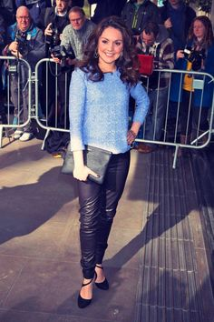 Laura Tobin kept it classy as she was present at The TRIC Awards 2015 in London on March The sizzled in… Leather Trousers, Leather Skirt, Itv Weather Girl, Hottest Weather Girls, Blouse And Skirt, Famous Women, Sexy Hot Girls, Beautiful Celebrities, Feminine Fashion