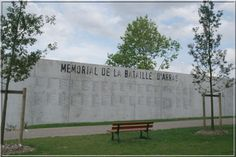 Mermorial to the Battle of  Arras WWI. Another savage carnage of then Great War.