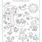 kids Easter coloring pages