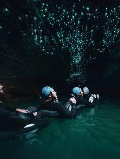Waitomo Caves Black Labyrinth Black Water Rafting Experience - Waitomo, New Zealand New Zealand Itinerary, New Zealand Travel Guide, Glow Worm Cave, Rafting Tour, Abel Tasman, Black Water, Catamaran, Auckland, Natural Wonders