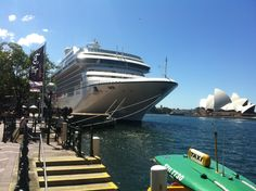 Oceania Cruises boat 'Marina' docked at Circular Quay (Sydney, Australia)