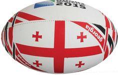 Ballon Rugby Flag Géorgie RWC 2015 / Gilbert