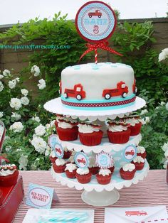 Fire Truck Birthday Party Ideas | Photo 1 of 8