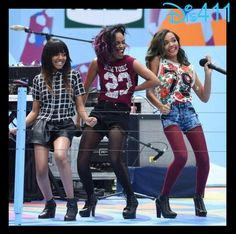 Photos: McCLAIN Rocking The Stage At Arthur Ashe Kids' Day August 23, 2014