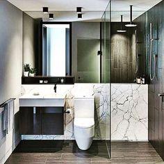 How do you like the layout? #minimalist #bathroomremodel
