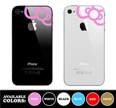 Hello Kitty Bow for iphone 4 Iphone 3, Cool Iphone Cases, Smartphone Covers, Cellphone Case, Hello Kitty Purse, Cool Technology, Cute Cases, Cool Gadgets, Leather Case