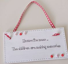 Handmade wooden plaque. Altered items new on the blog