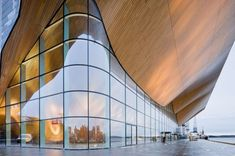 Need to go check out Kilden Performing Arts Center in Kristiansand, Norway when visiting @Aina Kristiansen!       Kilden / ALA Architects   ArchDaily