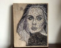 Adele String Art Portrait