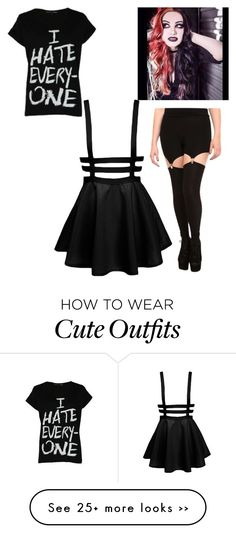 """Yes, i know, extremely girly for me, but Ash Costello inspired outfit. To be honest, i feel like i would wear this"" by lfromdeathnote on Polyvore featuring Delta Tribe"