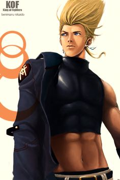 A Fanart of King of Fighters character benimaru nikaido. Snk Games, Comic Games, Play Fighting, Fighting Games, Fotos Do Pokemon, Snk King Of Fighters, Noob Saibot, Brave Frontier, Kuroo Tetsurou