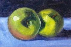 Green apple art!