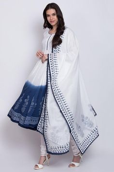 Cotton Anarkali, Anarkali Suits, Anarkali Dress, British Indian, Designer Dresses, Kimono Top, Churidar, How To Wear, Kurtis