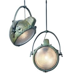 Matching Pair of GE Novalux Lights | Early Electrics