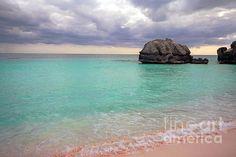 Bermuda pink sand beach.