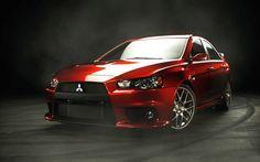 2016 Mitsubishi Lancer Evolution front red colors design pictures