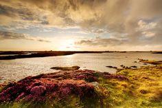 Benbecula in the Hebrides - Scotland