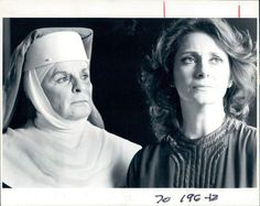 1983 Actresses Mercedes McCambridge  and Elizabeth Ashley in Agnes of God Wire.