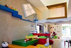 casa kids tecnocimento piso e paredes 70 m²