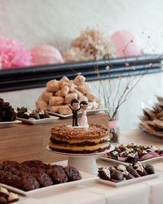 a dessert bar is beyond necessary!