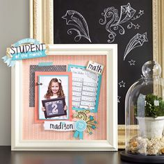We give the Chalk It Up paper packet an A+ for capturing back to school memories. If only homework could be this cute!