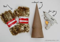 Christmas Garland Tree – Tutorial