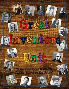Updated in December 2014 with new activities! This bestselling unit includes information on 20 different inventors. • Information for the following 20 inventors: o Thomas Edison o Alexander Graham Bell o Wright Brothers o Henry Ford o Leonardo Da Vinci o Benjamin Franklin o Galileo Galilei o Louis Pasteur o Levis Strauss o Eli Whitney o Elias Howe o Louis Braille o Johannes Gutenberg o Samuel Morse o George Washington Carver o James Naismith o Earle Dickson o Garrett Morgan o Mary ...