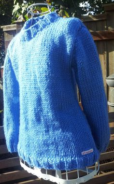 Blue age5 chunky knit jumper £8.00
