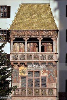 Austria Innsbruck Typical Houses