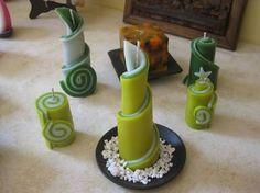 Resultado de imagen para velas artesanales de figuras