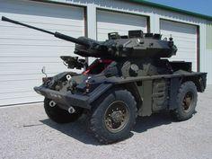 Fox recon vehicle (UK)