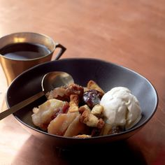 Apple-Brandy Brown Betty Recipe | Martha Stewart