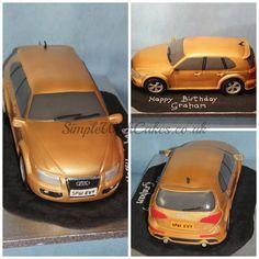 3D Audi 4x4 Car Cake  https://www.facebook.com/SimpleWishCakes