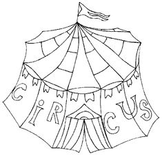 Clown Coloring Pages   Circus Coloring Pages - Coloringpages1001.com