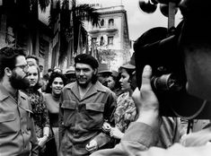 Che Guevara arm in arm with his wife Aleida March, Havana 1960
